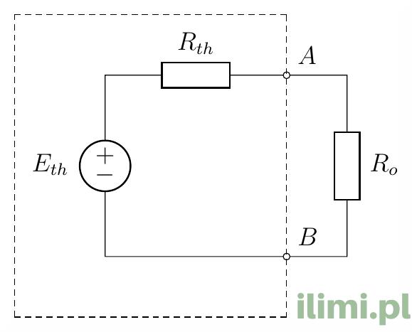 metoda thevenina generator thevenina