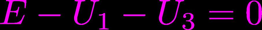 napięciowe prawo Kirchhoffa równanie 3