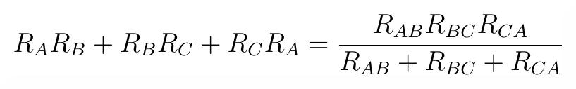 ABBCCA wzór. Transfiguracja wyprowadzenie wzoru.