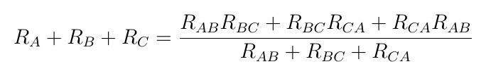 ABC wzór. Transfiguracja wyprowadzenie wzoru.