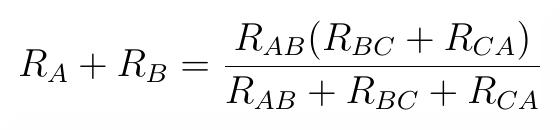 AB wzór. Transfiguracja wyprowadzenie wzoru.