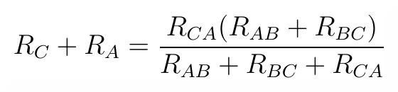 CA wzór. Transfiguracja wyprowadzenie wzoru.