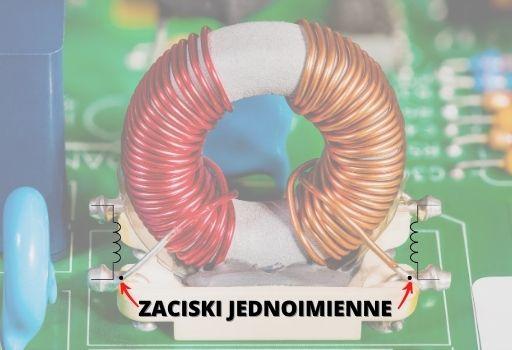 cewki sprzężone filtr EMC